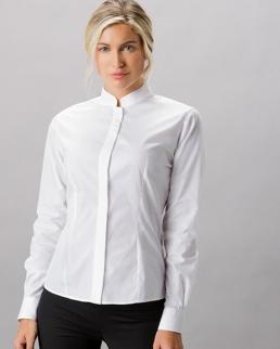 Camicia da donna collo alla coreana