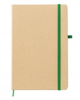Taccuino A5 in carta minerale con elastico