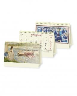 Calendario da tavolo Artistico