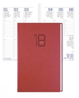 Agenda tascabile giornaliera Printflex 9 x 14