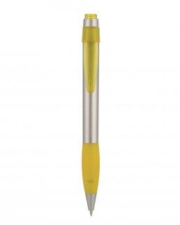 Penna a sfera con impugnatura in gomma