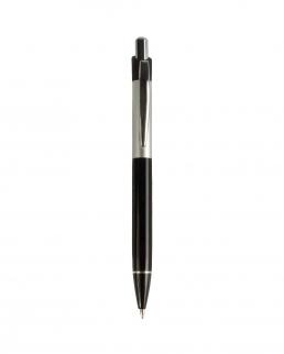 Penna in metallo con particolari in alluminio