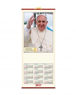 Calendario in canna Papa Francesco