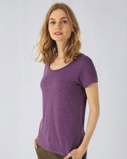 T-shirt donna Triblend