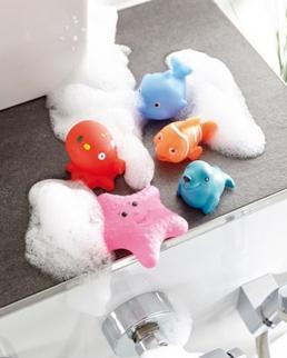 Animaletti da bagno HAPPY FISHES