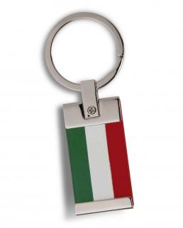 Portachiavi in metallo e PVC Italia