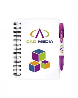 BIC® Notebooks Plastic Cover Piccolo