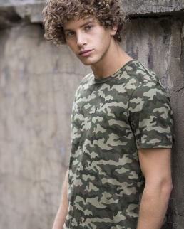 T-Shirt Camo T - Uomo