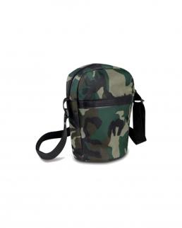 Borsello da spalla con tasca frontale Camouflage
