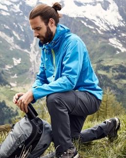 Pantaloni uomo da trekking trasformabili