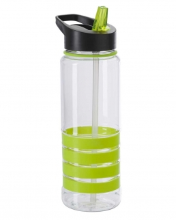 Borraccia botton push 700 ml BPA Free