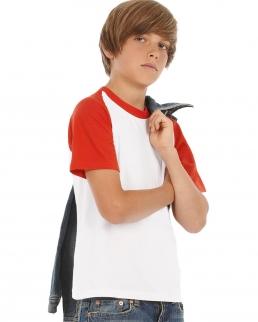 T-shirt Baseball bambino