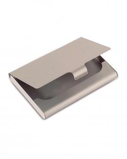 Porta biglietti da visita in alluminio