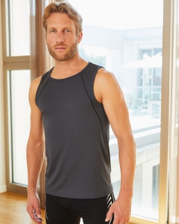 Canotta uomo per fitness e sport