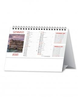 Calendario da tavolo Spiralato Città D'italia