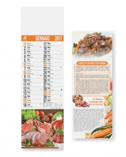 Calendario Silhouette Carne