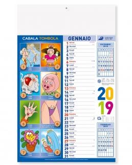 Calendario mensile Cabala