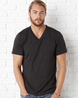 T-shirt Triblend con scollo a V