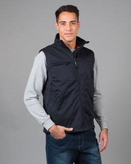 Gilet Aspen in soft shell portabadge estraibile