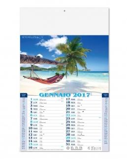 Calendario Mensile Paesaggi