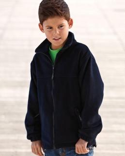 Pile bambino zip intera Fleece