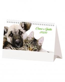 Calendario da tavolo Cani e Gatti
