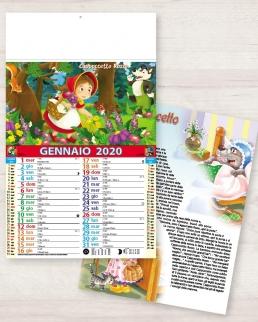 Calendario olandese illustrato Fiabe