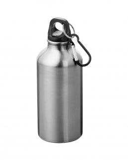 Borraccia in alluminio con moschettone California 400 ml