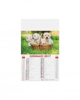 Calendario Cani e Gatti 12 fogli