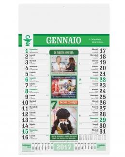 Calendario olandese illustrato Farmacia