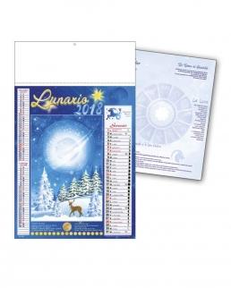 Calendario Lunario Trimensile 12 fogli