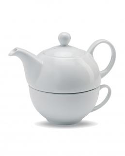 Set da tè con teiera e tazza
