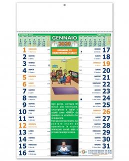 Calendario illustrato Della Salute