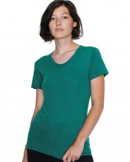 T-shirt donna Tri-Blend girocollo