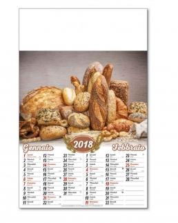 Calendario Pane Bimensile 6 fogli