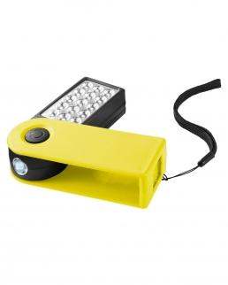 Pila con apertura girevole per attivare altre 15 luci a LED