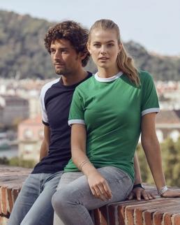 T-shirt bicolore Nome