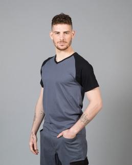 T-shirt uomo collo a V Alicante