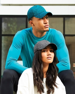 Cappellino Spacer Marl Stretch-Fit Cap
