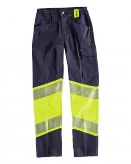 Pantalone elasticizzato bidirezionale combinato