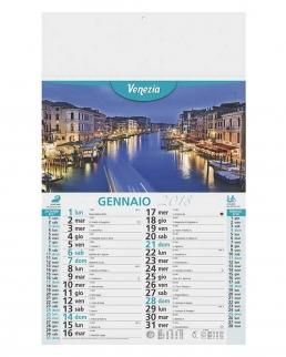 Calendario olandese illustrato Città d'Italia