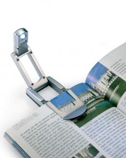 Lampada da lettura 1 LED Lumibook