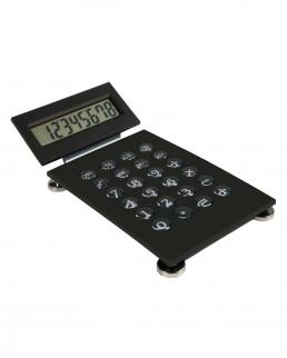 Calcolatrice con display reclinabile
