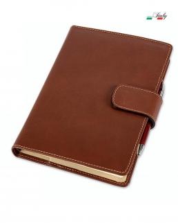 Agenda in cuoio a portafoglio 15 x 21