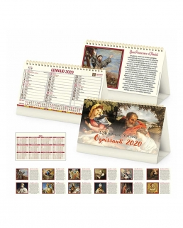 Calendario da tavolo Santi