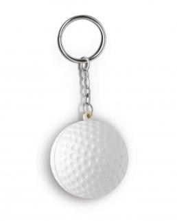 Portachiavi antistress pallina da golf