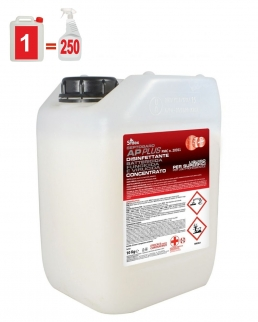 Detergente disinfettante tanica da 10 litri concentrato