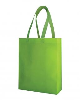 Shopper in TNT con soffietto Demetra