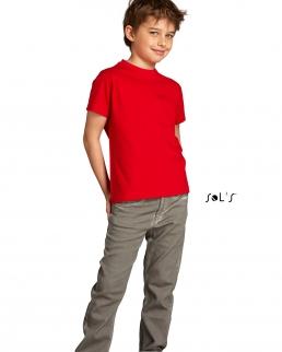 T-shirt bambino girocollo Imperial