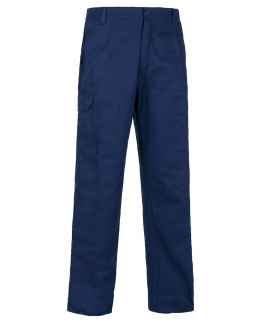 Pantalone classico da lavoro con elastico in vita